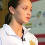 Gymnast Irina Chaschina