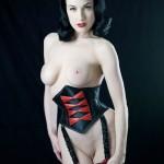 Dita von Teese Naked
