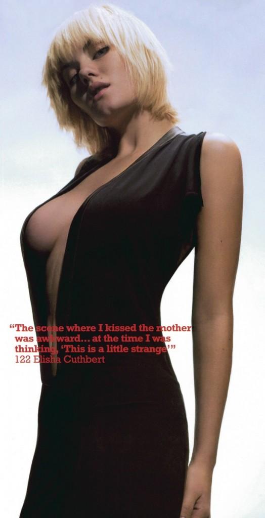 Голая актриса Elisha Cuthbert фото эротика картинки